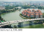 Жилые кварталы Сингапура, фото № 2735389, снято 20 сентября 2010 г. (c) Юлия Бабкина / Фотобанк Лори