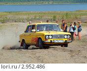 Автогонки триал на ВАЗ-2106