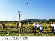 Волейбол на природе