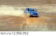 Автогонки триал на старом Запорожце
