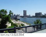Центральная набережная Каира. Нил. Египет