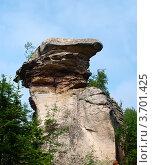 Скала в каменном городе. Пермский край