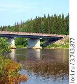 Мост через реку Вильва