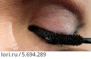 Макияж глаза, видеоролик № 5694289, снято 10 февраля 2014 г. (c) Иван Артемов / Фотобанк Лори