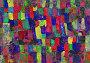 Детский рисунок - абстрактные пятна, иллюстрация № 6360485 (c) Алексей Кузнецов / Фотобанк Лори