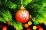 Christmas decoration on the fir tree, фото № 6782481, снято 23 сентября 2009 г. (c) Elnur / Фотобанк Лори