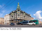 """""""Дом Зингера"""" в Санкт-Петербурге, фото № 6920993, снято 23 января 2015 г. (c) FotograFF / Фотобанк Лори"""