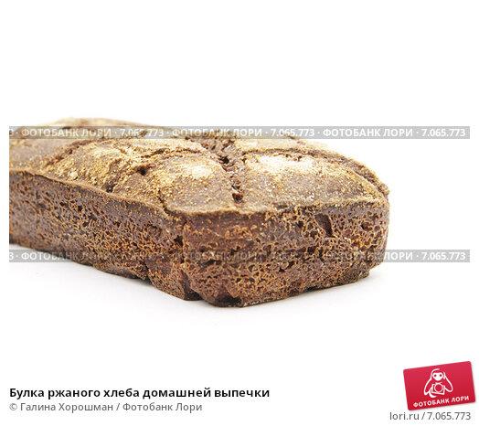 Выпечка хлеба домашних условияхы