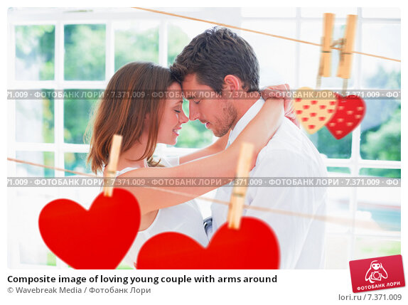 Images of love couple with