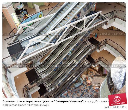 Размеры эскалаторов в торговых центрах