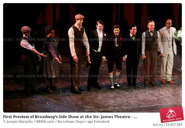 Broadway curtain call