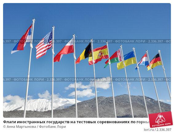 флаги иностранных государств