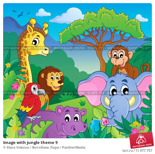 Jungle themed
