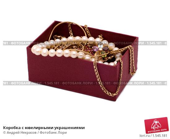 Коробочка с украшениями фото