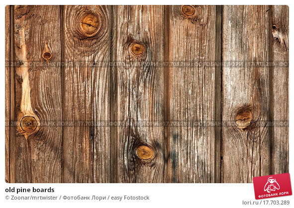 Wood look poster board