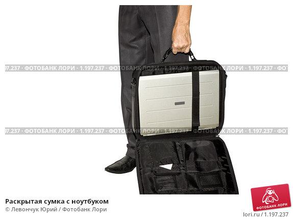 Раскрытая сумка с ноутбуком, фото 1197237, снято 28 октября 2009...