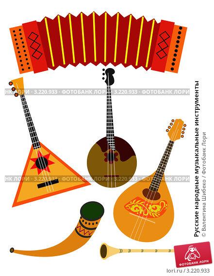 Русские музыкальные инструменты фото