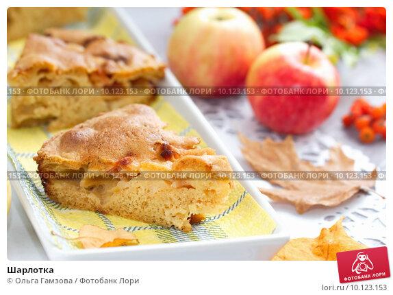 Простая шарлотка с яблоками рецепт фото