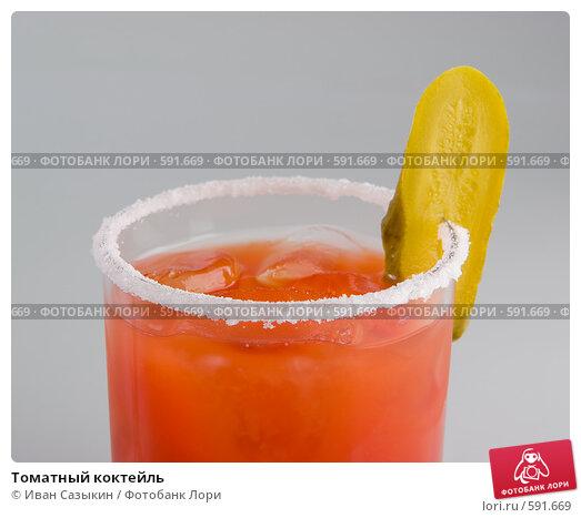 Томатный коктейль, фото 591669.