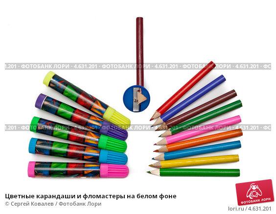 Техника карандаш и фломастером