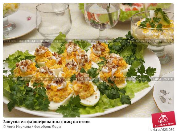 Закуски из фаршированных яиц рецепты с фото
