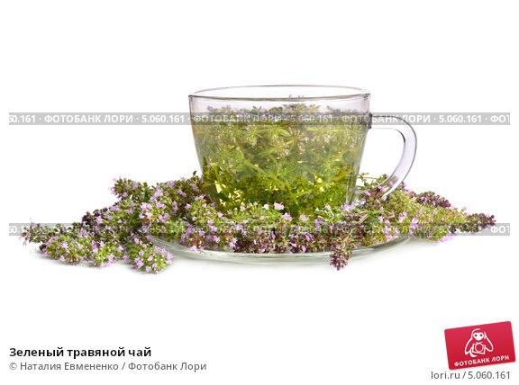 Травы на зеленый чай