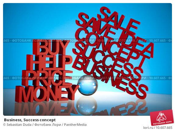 Business, Success concept. Стоковое фото, фотограф Sebastian Duda / PantherMedia / Фотобанк Лори