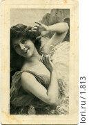 Купить «Девушка в летнем платье», фото № 1813, снято 23 января 2020 г. (c) Retro / Фотобанк Лори