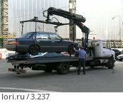 Купить «Эвакуатор», эксклюзивное фото № 3237, снято 2 июля 2004 г. (c) Ирина Терентьева / Фотобанк Лори