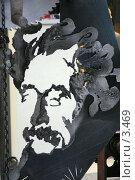 Купить «ТехноАрт, Эйнштейн. Фотография сделана на публичной выставке», эксклюзивное фото № 3469, снято 20 апреля 2018 г. (c) Юлия Кузнецова / Фотобанк Лори