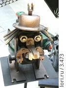Купить «ТехноАрт. Существо в шляпе», эксклюзивное фото № 3473, снято 20 апреля 2018 г. (c) Юлия Кузнецова / Фотобанк Лори