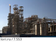 Купить «Нефтеперегонный завод, порт Антверпен. Солнечный день», фото № 7553, снято 19 марта 2006 г. (c) Михаил Лавренов / Фотобанк Лори