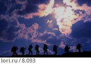 Купить «Ночные туристы», фото № 8093, снято 10 августа 2005 г. (c) Vladimir Fedoroff / Фотобанк Лори