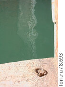 Купить «Причальное кольцо на улице », фото № 8693, снято 14 августа 2006 г. (c) Тузов Александр / Фотобанк Лори