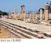 Купить «Верхняя агора (площадь). Эфес, Турция», фото № 8869, снято 9 июля 2006 г. (c) Маргарита Лир / Фотобанк Лори