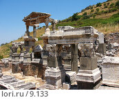 Купить «Источник Траяна. Эфес, Турция», фото № 9133, снято 9 июля 2006 г. (c) Маргарита Лир / Фотобанк Лори