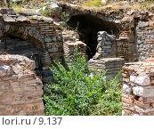 Купить «Остатки жилых домов. Эфес, Турция», фото № 9137, снято 9 июля 2006 г. (c) Маргарита Лир / Фотобанк Лори