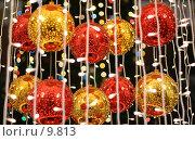 Купить «Новогодние украшения», фото № 9813, снято 14 января 2006 г. (c) Cangaroo / Фотобанк Лори