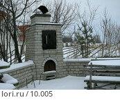 Купить «Садовая барбекю (печь для сада)», фото № 10005, снято 18 февраля 2006 г. (c) Ivan / Фотобанк Лори