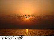 Закат. Чёрное море. Стоковое фото, фотограф Типикин Дмитрий / Фотобанк Лори