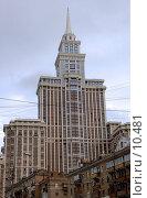 """Купить «Высотное здание """"Триумф-Палас""""», фото № 10481, снято 3 октября 2006 г. (c) Юлия Перова / Фотобанк Лори"""