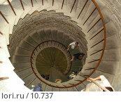 Купить «Винтовая лестница», фото № 10737, снято 23 июля 2006 г. (c) Комиссарова Ольга / Фотобанк Лори