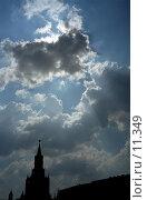 Купить «Московский Кремль. Спасская башня на фоне вечернего неба», фото № 11349, снято 18 августа 2018 г. (c) Юрий Синицын / Фотобанк Лори