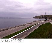 Купить «Волга осенью», фото № 11401, снято 9 октября 2006 г. (c) Рыжов Андрей / Фотобанк Лори