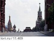 Купить «Москва, Красная площадь», фото № 11409, снято 18 августа 2018 г. (c) Юрий Синицын / Фотобанк Лори