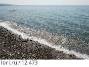 Купить «Галечный пляж в г. Сухум», фото № 12473, снято 25 августа 2006 г. (c) Лисовская Наталья / Фотобанк Лори