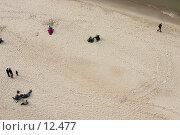 Купить «Пляж г. Светлогорска (вид сверху)», фото № 12477, снято 30 апреля 2006 г. (c) Лисовская Наталья / Фотобанк Лори