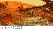"""Купить «Фон-коллаж """"осенний ветер""""», иллюстрация № 13221 (c) Tamara Kulikova / Фотобанк Лори"""