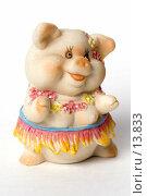 Купить «Нарядная свинка», фото № 13833, снято 30 ноября 2006 г. (c) Лисовская Наталья / Фотобанк Лори