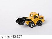 Купить «Игрушечный трактор», фото № 13837, снято 30 ноября 2006 г. (c) Лисовская Наталья / Фотобанк Лори